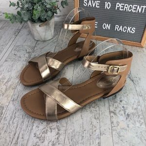 6ad9c539436 Clarks Shoes - Clark s Viveca Zeal Leather Ankle Strap Sandal